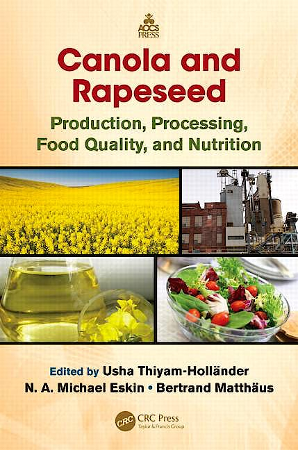 Portada del libro 9781138199972 Canola and Rapeseed. Production, Processing, Food Quality, and Nutrition