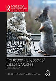 Portada del libro 9781138365308 Routledge Handbook of Disability Studies