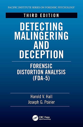 Portada del libro 9781138390454 Detecting Malingering and Deception. Forensic Distortion Analysis (FDA-5)
