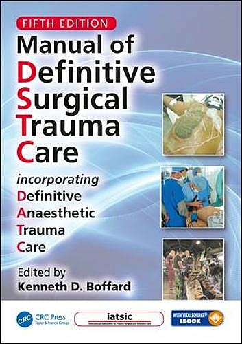 Portada del libro 9781138500112 Manual of Definitive Surgical Trauma Care + Tarjeta SD + Ebook