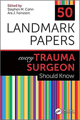 Portada del libro 9781138506299 50 Landmark Papers Every Trauma Surgeon Should Know
