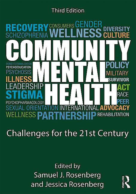 Portada del libro 9781138913110 Community Mental Health. Challenges for the 21st Century