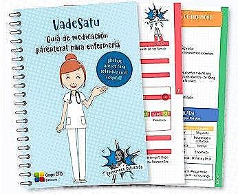 Portada del libro 9781234567897 VADESATU. Guía de Medicación Parenteral para Enfermería (Incluye Anexos para Sobrevivir en el Hospital)