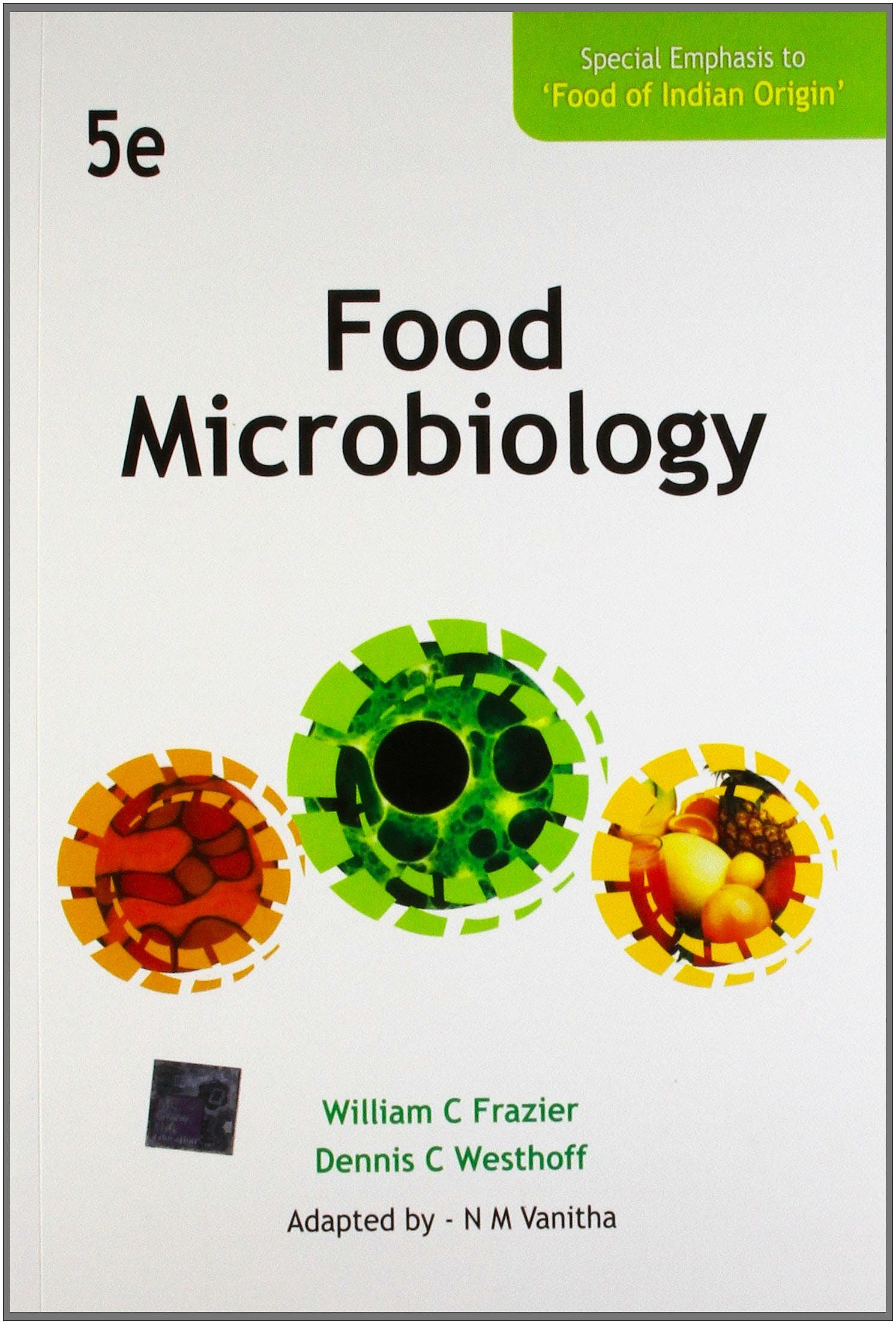 Portada del libro 9781259062513 Food Microbiology
