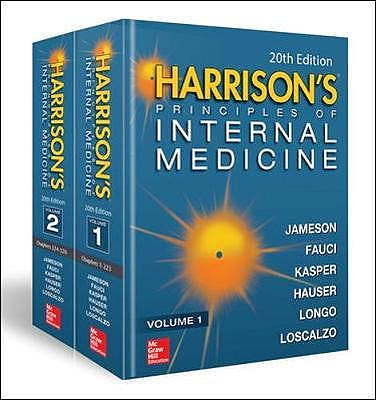 Portada del libro 9781259644030 Harrison's Principles of Internal Medicine, 2 Vols. + Videos and Atlas Online