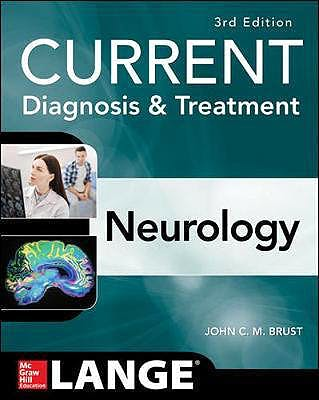 Portada del libro 9781259835315 CURRENT Diagnosis and Treatment Neurology