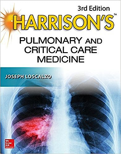 Portada del libro 9781259835803 Harrison's Pulmonary and Critical Care Medicine
