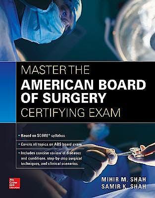 Portada del libro 9781259860737 Master the American Board of Surgery Certifying Exam