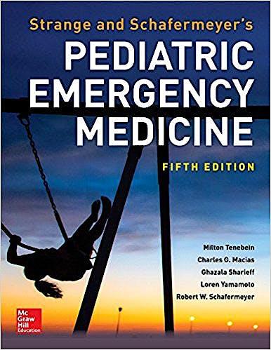 Portada del libro 9781259860751 Strange and Schafermeyer's Pediatric Emergency Medicine