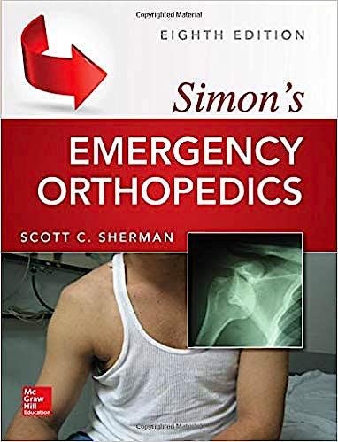 Portada del libro 9781259860829 Simon's Emergency Orthopedics