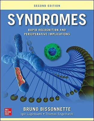 Portada del libro 9781259861789 Syndromes. Rapid Recognition and Perioperative Implications