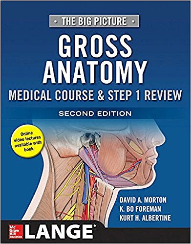 Portada del libro 9781259862632 Gross Anatomy. Medical Course and Step 1 Review (The Big Picture). Lange