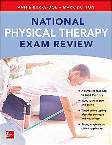 Portada del libro 9781260010626 National Physical Therapy (NAPT) Exam Review