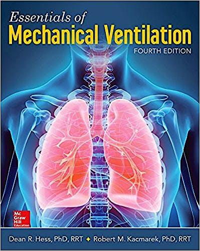 Portada del libro 9781260026092 Essentials of Mechanical Ventilation