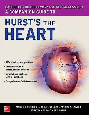 Portada del libro 9781260026153 A Companion Guide to Hurst's The Heart. Cardiology Board Review and Self-Assessment