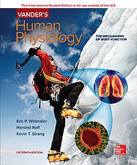 Portada del libro 9781260085228 Vander's Human Physiology. The Mechanisms of Body Function