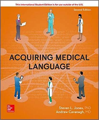 Portada del libro 9781260092059 Acquiring Medical Language