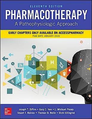 Portada del libro 9781260116816 Pharmacotherapy. A Pathophysiologic Approach