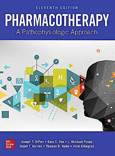 Portada del libro 9781260116823 Pharmacotherapy. A Pathophysiologic Approach (E-Book)