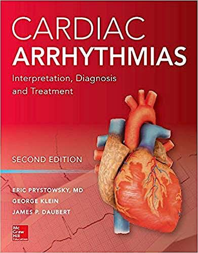 Portada del libro 9781260118209 Cardiac Arrhythmias. Interpretation, Diagnosis and Treatment