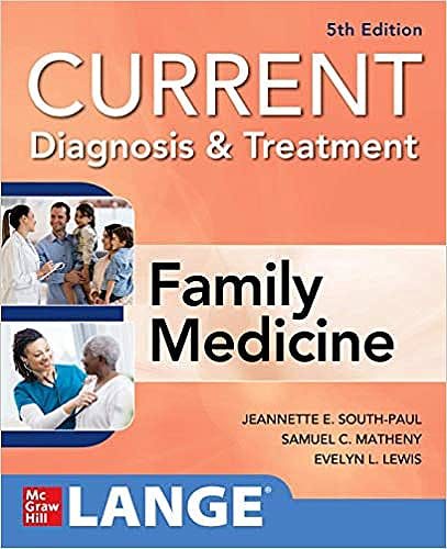Portada del libro 9781260134896 CURRENT Diagnosis & Treatment in Family Medicine