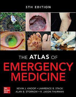 Portada del libro 9781260134940 Atlas of Emergency Medicine