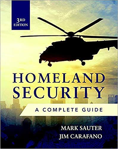 Portada del libro 9781260142938 Homeland Security. A Complete Guide