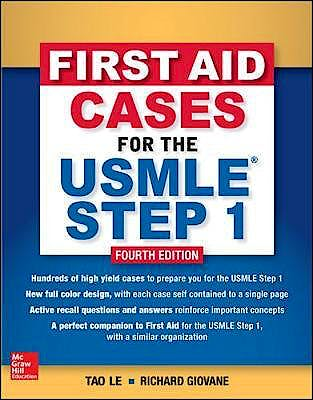 Portada del libro 9781260143133 First Aid Cases for the USMLE Step 1