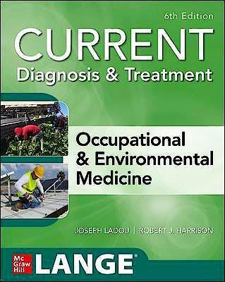Portada del libro 9781260143430 CURRENT Diagnosis & Treatment Occupational & Environmental Medicine