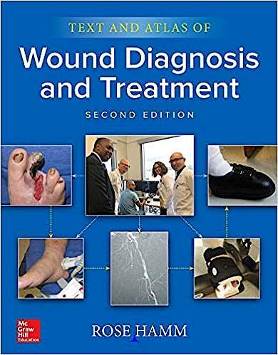 Portada del libro 9781260440461 Text and Atlas of Wound Diagnosis and Treatment