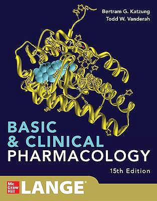 Portada del libro 9781260452310 Basic and Clinical Pharmacology. LANGE