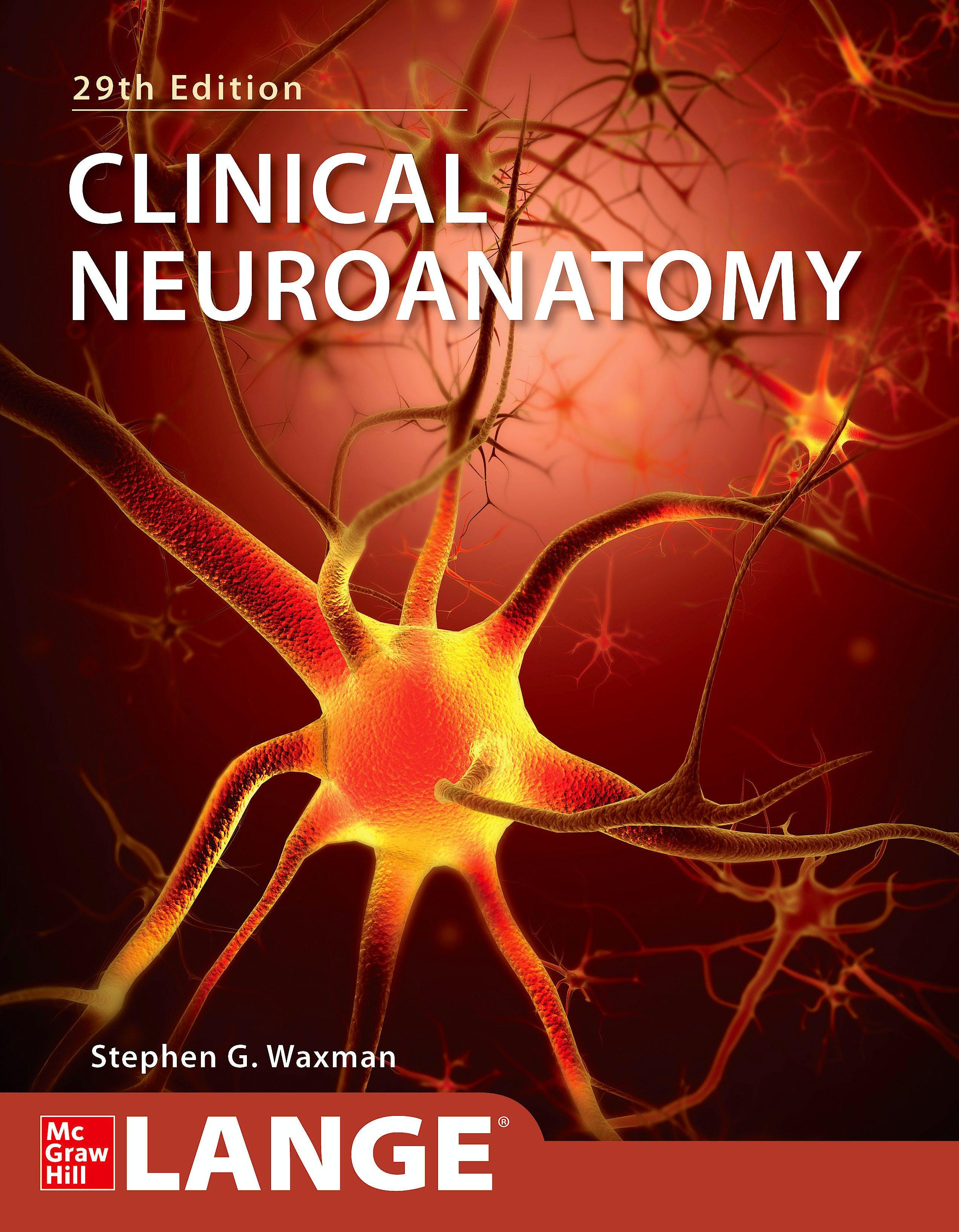 Portada del libro 9781260452358 Clinical Neuroanatomy. LANGE