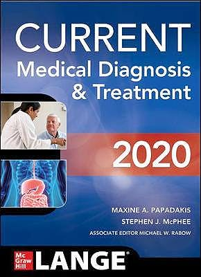 Portada del libro 9781260455281 Current Medical Diagnosis and Treatment 2020