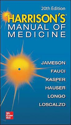 Portada del libro 9781260455342 Harrison's Manual of Medicine
