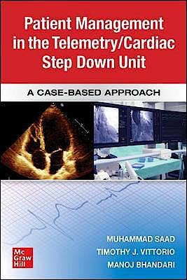 Portada del libro 9781260456998 Guide to Patient Management in the Cardiac Step Down/Telemetry Unit. A Case-Based Approach