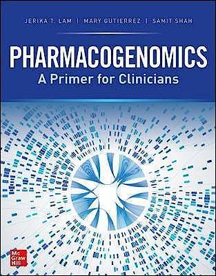 Portada del libro 9781260457100 Pharmacogenomics. A Primer for the Clinician