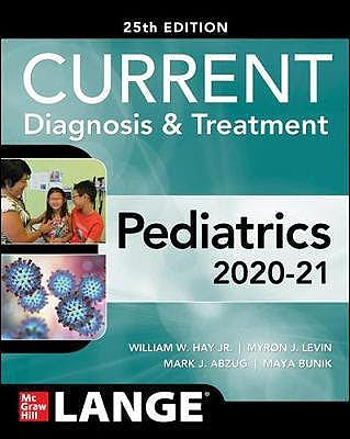 Portada del libro 9781260457827 CURRENT Diagnosis and Treatment Pediatrics. LANGE