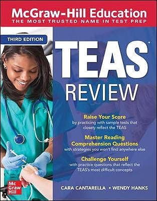 Portada del libro 9781260462395 McGraw-Hill Education TEAS Review