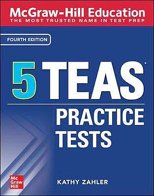 Portada del libro 9781260462951 McGraw-Hill Education 5 TEAS Practice Tests