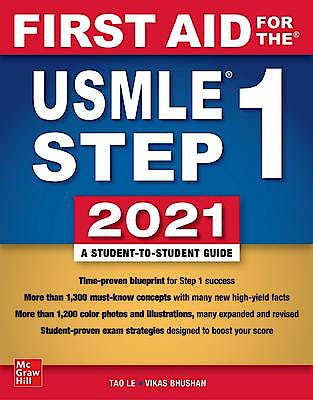 Portada del libro 9781260467529 First Aid for the USMLE Step 1 2021