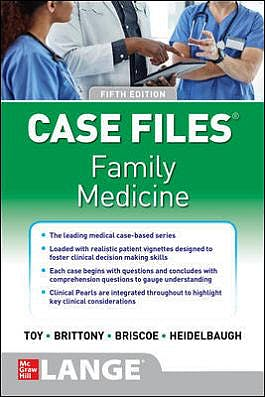 Portada del libro 9781260468595 Case Files Family Medicine