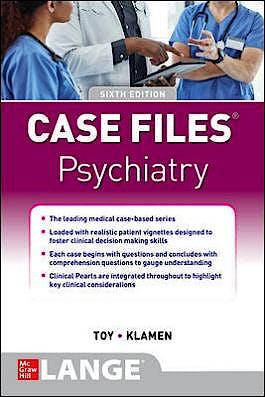 Portada del libro 9781260468731 Case Files Psychiatry