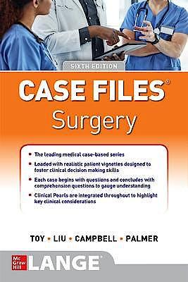 Portada del libro 9781260468809 Case Files Surgery