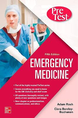 Portada del libro 9781260468946 Pretest Emergency Medicine