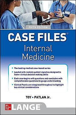 Portada del libro 9781260469967 Case Files Internal Medicine