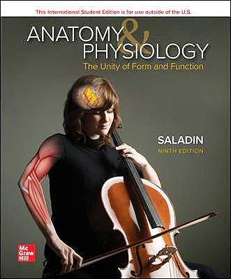Portada del libro 9781260571295 ISE Anatomy & Physiology. The Unity of Form and Function