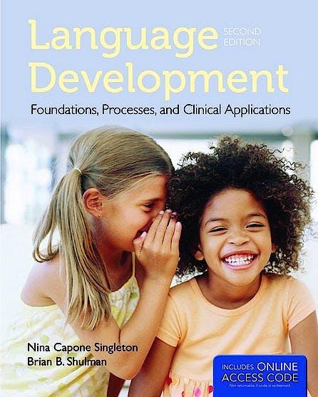 Portada del libro 9781284022070 Language Development. Foundations, Processes, and Clinical Applications + Online Access