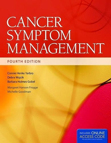 Portada del libro 9781284027402 Cancer Symptom Management + Online Access