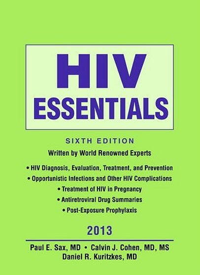 Portada del libro 9781284029802 Hiv Essentials 2013