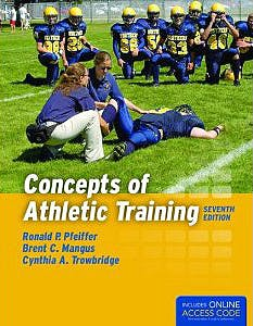 Portada del libro 9781284034127 Concepts of Athletic Training + Contents Online